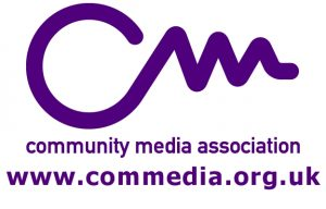 Community Media Association logo